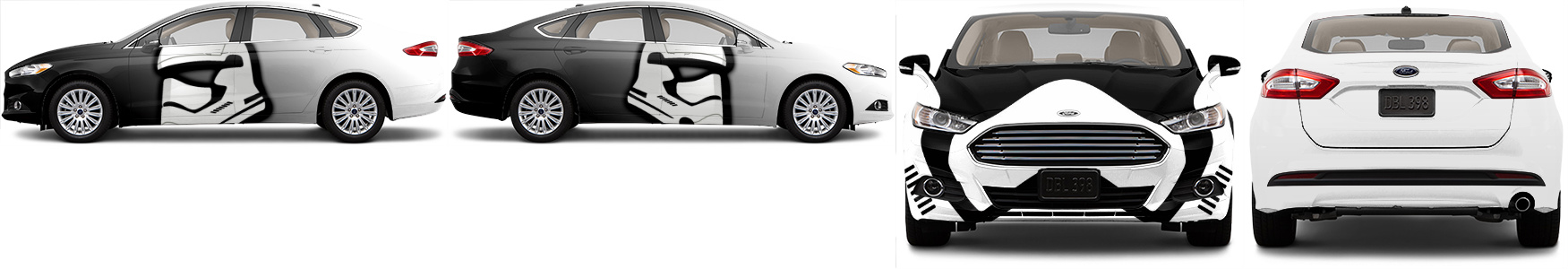Storm Trooper Sedan Wrap Designed By Cody Davis Design