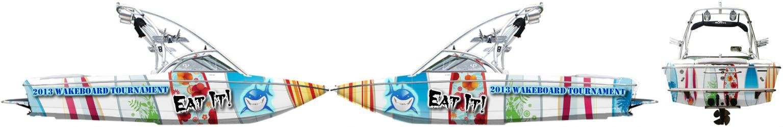 Boat Wrap Custom Design 1340 By Willem Devries Design